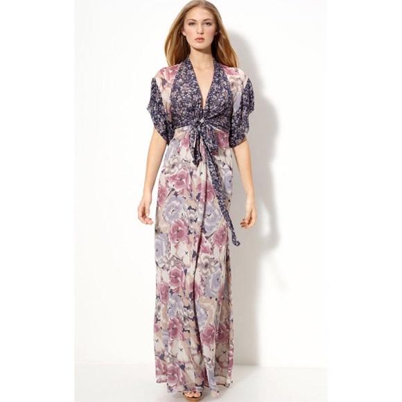 43dc26dd06e59 Winter Kate Silk Kimono Maxi Dress. M_5a5d03fda44dbea57b349ebf